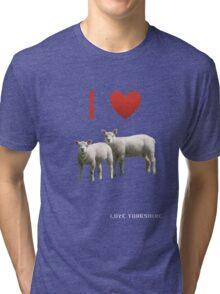 Love Lamb - Love Yorkshire Tri-blend T-Shirt