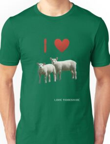 Love Lamb - Love Yorkshire Unisex T-Shirt