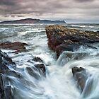 Rough Sea by Derek Smyth