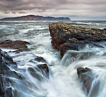 Rough Sea by Derek Smyth