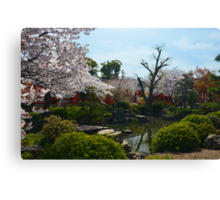 Temple Garden 2 Canvas Print