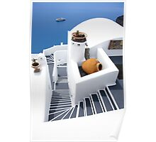 Santorini view ..[FEATURED 4 x ] Poster