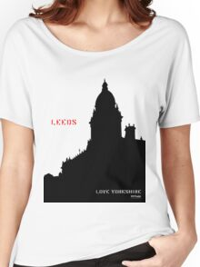 Love Leeds - Love Yorkshire Women's Relaxed Fit T-Shirt