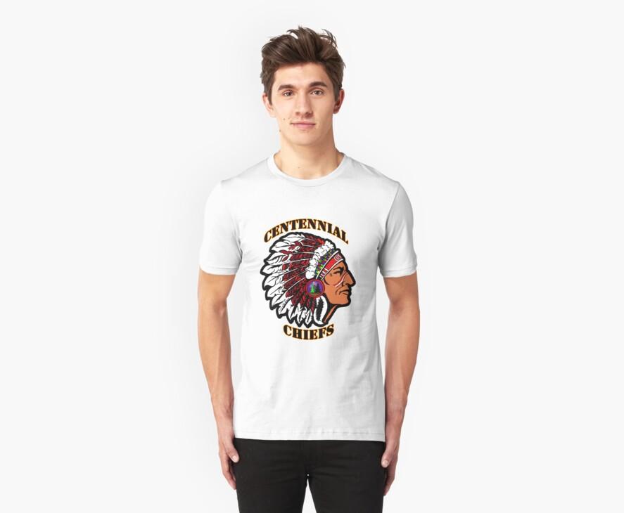 Centennial Chiefs T-shirt by Studio Burke