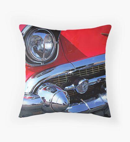 Detail of 1950's Chevrolet Throw Pillow