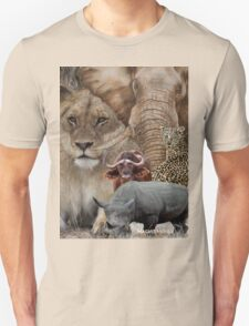 "A ""BIG 5"" TEESHIRT DESIGN, ALL THE WAY FROM AFRICA ! Unisex T-Shirt"