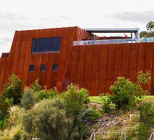 Mona Art Gallery, Hobart, Tasmania, Australia by Elaine Teague