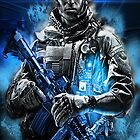 Battlefield 3 iPhone Case by Gaandi