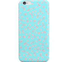 Daisy Heather blue iPhone Case/Skin