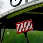 Taxi for hire by buttonpresser