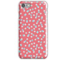 Daisy Heather pink iPhone Case/Skin