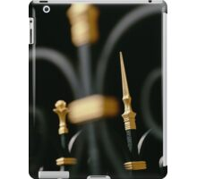 Wrought Iron Fence at Louvre iPad Case/Skin