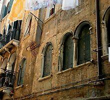A Wash Day In Venice by Michele Filoscia