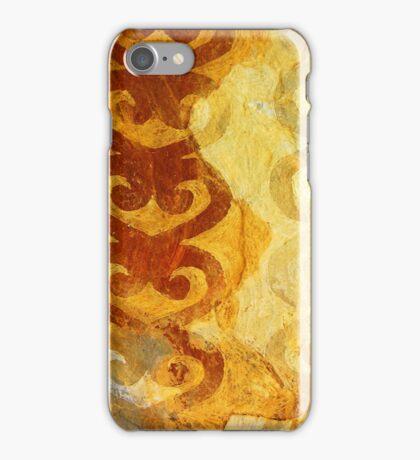 Maori Slate yellow iPhone Case/Skin