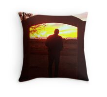 A King And His Kingdom Throw Pillow