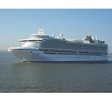 Azura P&O Cruise liner Photographic Print