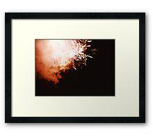 Fireworks - Lomo Framed Print