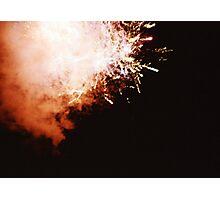 Fireworks - Lomo Photographic Print