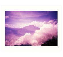 Purple Haze - Lomo Art Print