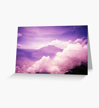 Purple Haze - Lomo Greeting Card
