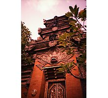 Temple - Lomo Photographic Print