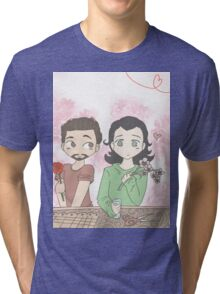 Tony and Loki, Flower Shop Tri-blend T-Shirt