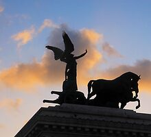 The Quadriga, Victor Emmanuel Monument, Rome, Italy by buttonpresser