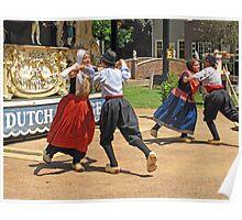 Dutch Dancers Poster