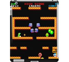 Bubble Bobble Level (vector image - not 8bit) iPad Case/Skin