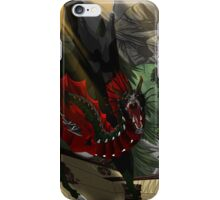 Dragon Perched iPhone Case/Skin