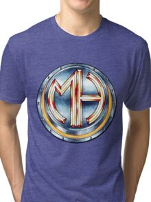 Mars Hotel Steelbutton-Logo Tri-blend T-Shirt