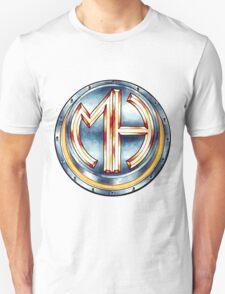 Mars Hotel Steelbutton-Logo Unisex T-Shirt