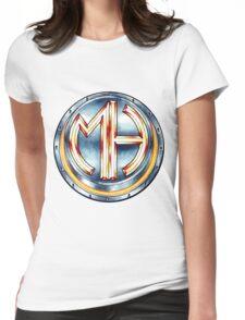 Mars Hotel Steelbutton-Logo Womens Fitted T-Shirt