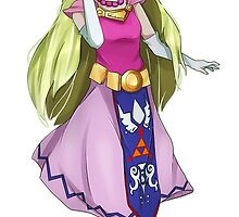 Minish Zelda by iZelda