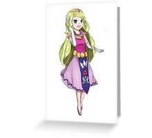 Minish Zelda Greeting Card