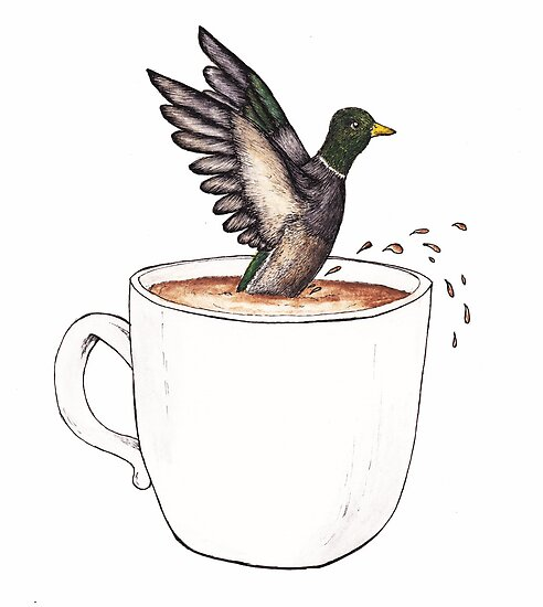 Tea brings Happiness...for Ducks by samclaire