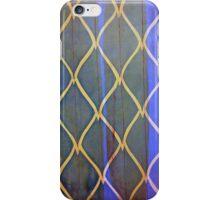 bark blue iPhone Case/Skin