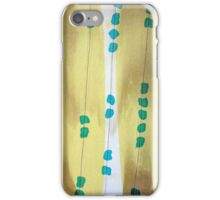 bark yellow iPhone Case/Skin