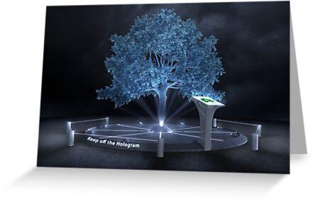 Keep off the hologram by jordygraph
