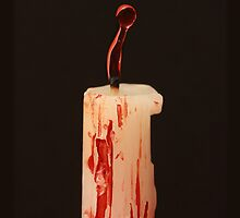 Bloody candle by Liz  Howerton Photography