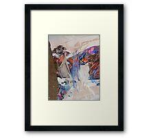 hj1166 Framed Print