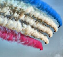 Cookin On Gas !! - The Red Arrows - Duxford 26.05.2013  by Colin  Williams Photography