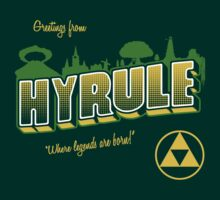 Greetings From Hyrule by PlatinumBastard