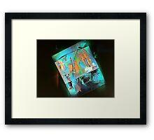 hj1101 Framed Print