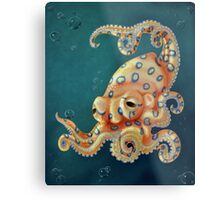 Blue-ringed Octo Metal Print