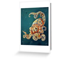 Blue-ringed Octo Greeting Card