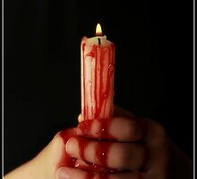Bleeding candle by Liz  Howerton Photography