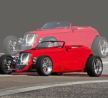 Double Vision '33 Ford Roadster by DaveKoontz