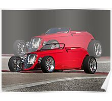 Double Vision '33 Ford Roadster Poster