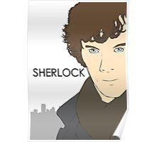 Sherlock- Benedict Cumberbatch Poster